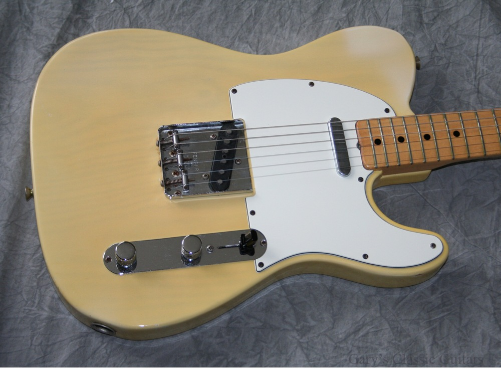 fender telecaster 1972 see thru blonde guitar for sale garys classic guitars. Black Bedroom Furniture Sets. Home Design Ideas