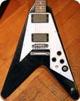 Gibson Custom Shop Kirk Hammett Flying V Aged HB455C 076 Aged Ebony 2013