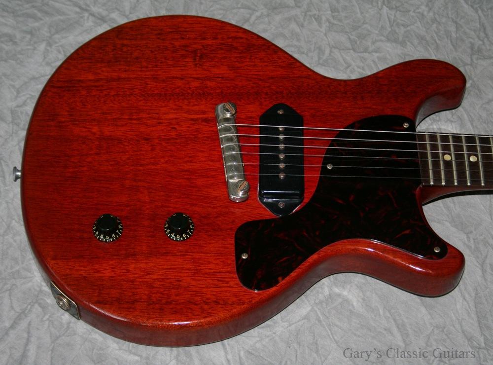 gibson les paul junior 1959 cherry red guitar for sale garys classic guitars. Black Bedroom Furniture Sets. Home Design Ideas
