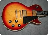 Gibson Les Paul Custom 1974 Cherry Sunburst