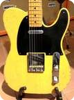 Fender Telecaster 52 Custom Shop Relic Butterscotch Blonde