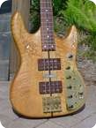 Ken Smith Custom 4 String Bass For Ken Smith 1980 Natural Finish