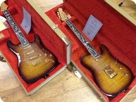 Fender Guitar Center 30th Anniversary Matched Strat Tele Sunburst