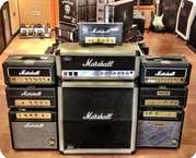 Marshall Silver Jubilee 2550 Head With 212 Cab 1987