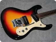 Mosrite MK 1 Ventures Model 1965 Sunburst