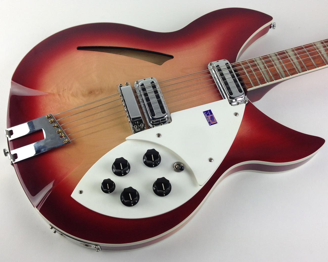 rickenbacker 360 12 v64 1999 fireglo guitar for sale thunder road guitars. Black Bedroom Furniture Sets. Home Design Ideas