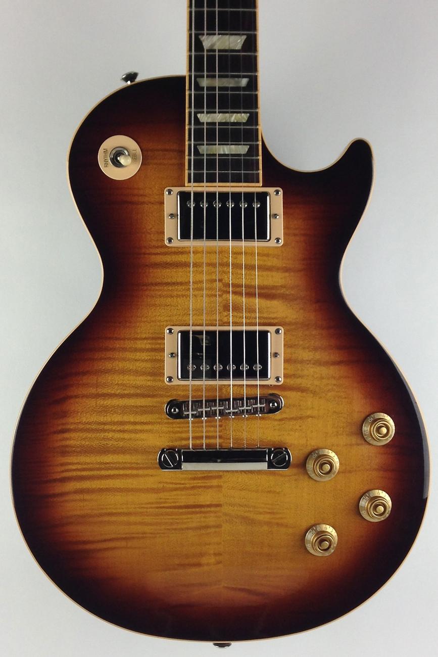 gibson les paul standard plus 2007 desert burst guitar for sale thunder road guitars. Black Bedroom Furniture Sets. Home Design Ideas