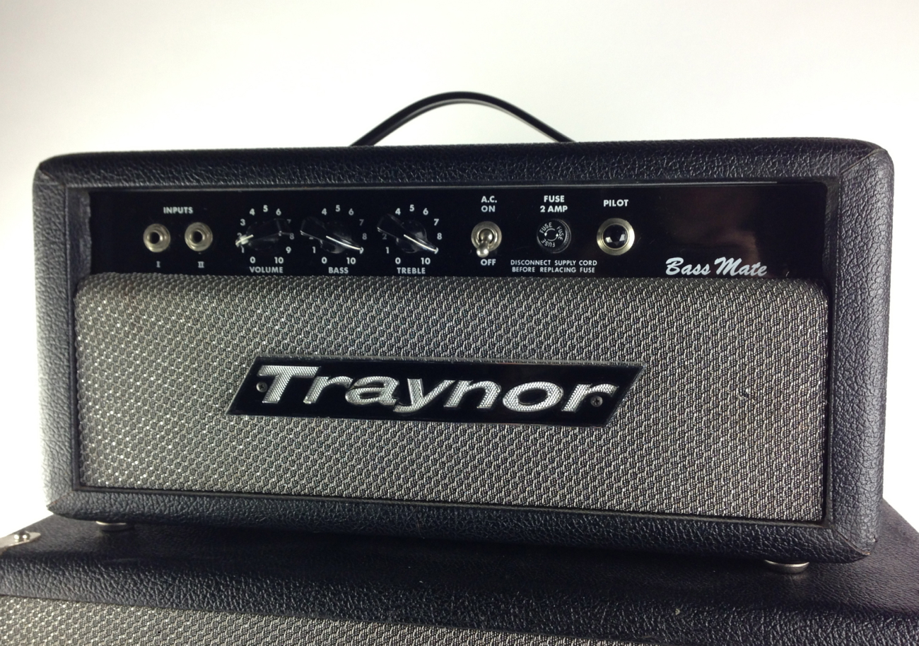 traynor yba2a w cab 1973 amp for sale thunder road guitars. Black Bedroom Furniture Sets. Home Design Ideas