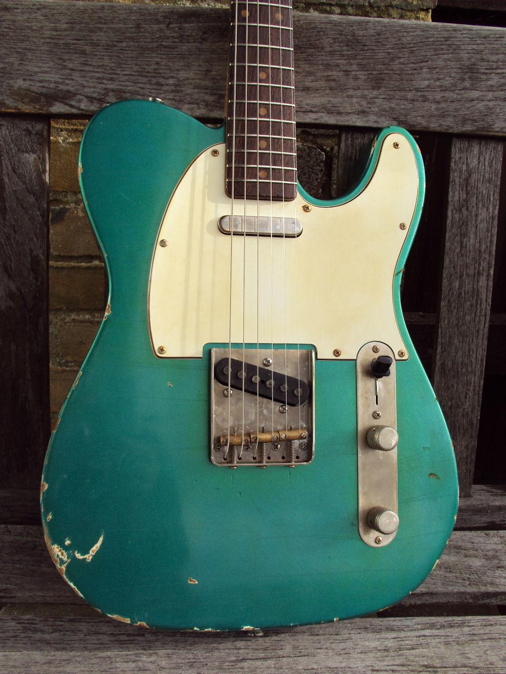 eternal guitars t type robin made to order 1960 39 s aged sherwood green guitar for sale eternal. Black Bedroom Furniture Sets. Home Design Ideas