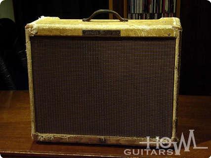 Fender Tweed Twin 5e8  1956