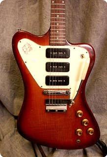 gibson firebird non reverse 1966 sunburst guitar for sale twang. Black Bedroom Furniture Sets. Home Design Ideas
