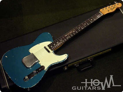 fender telecaster 1965 lake placid blue guitar for sale howl guitars. Black Bedroom Furniture Sets. Home Design Ideas