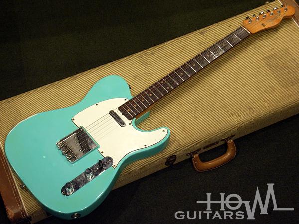 fender telecaster 1962 seafoam green guitar for sale howl guitars. Black Bedroom Furniture Sets. Home Design Ideas