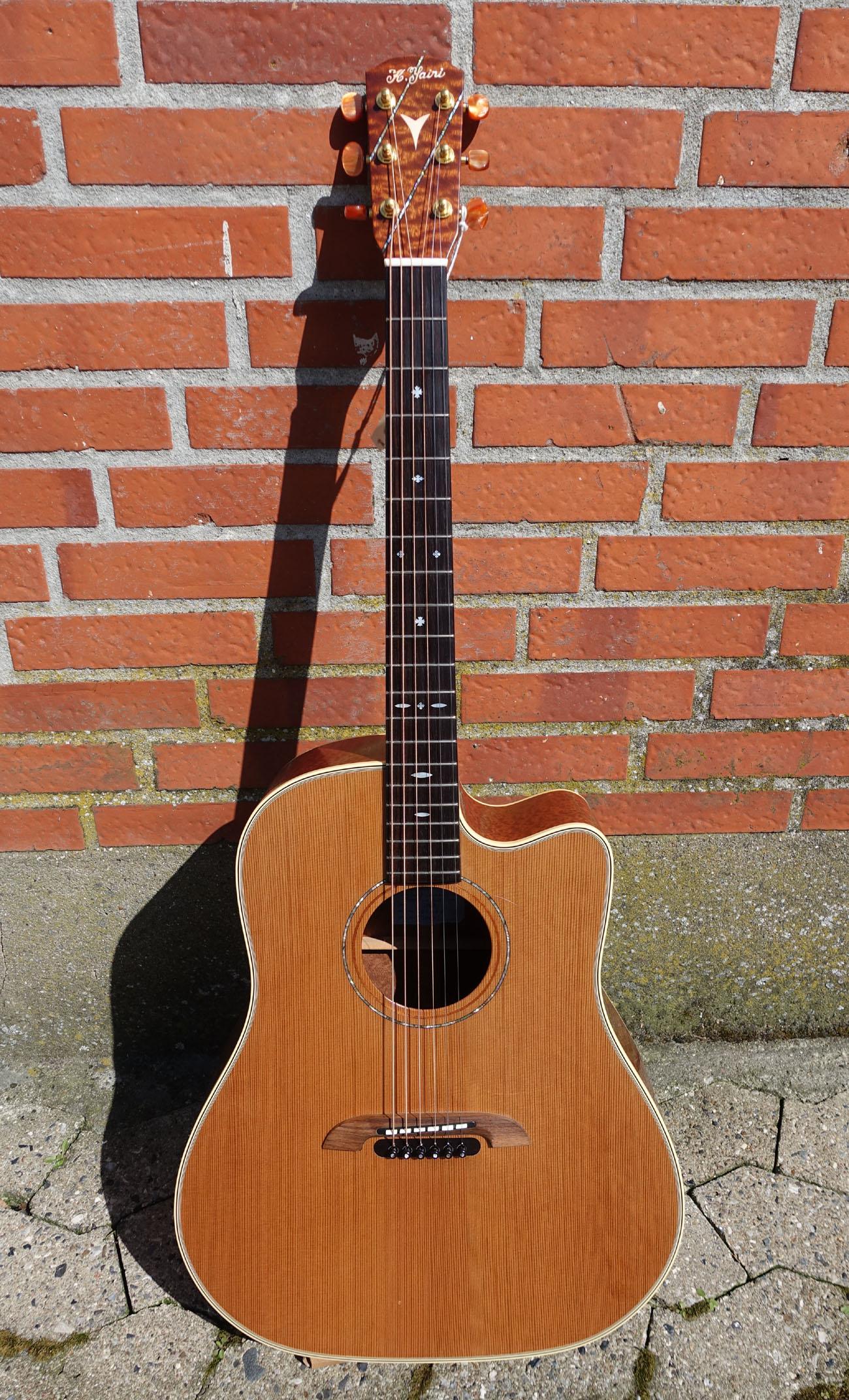k yairi dy62c 2010 guitar for sale plektrum. Black Bedroom Furniture Sets. Home Design Ideas