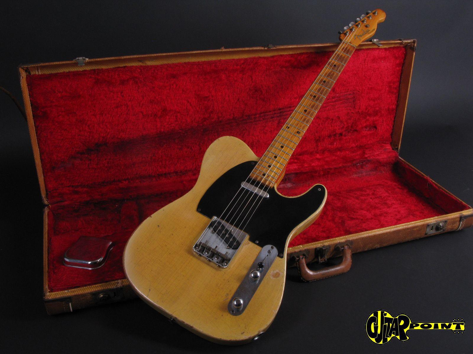 fender telecaster 1954 blond guitar for sale guitarpoint. Black Bedroom Furniture Sets. Home Design Ideas