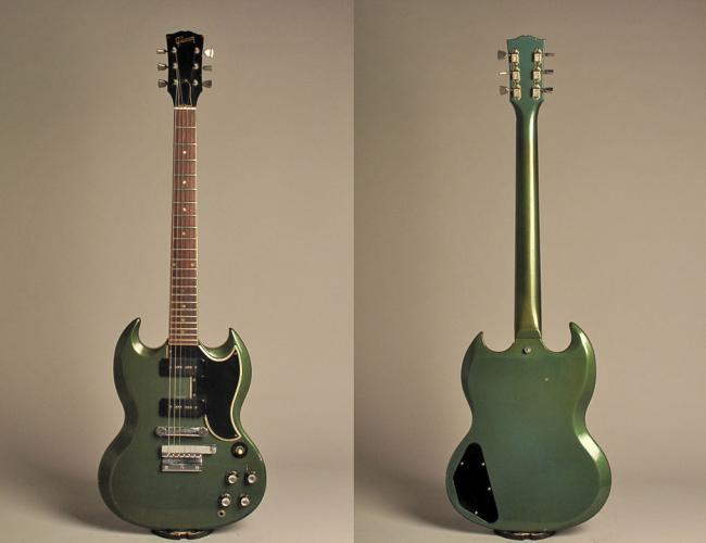 gibson sg special custom color 1965 pelham blue guitar for sale buffalo bros guitars. Black Bedroom Furniture Sets. Home Design Ideas