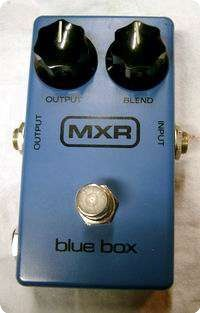 Mxr Mxr Blue Box Octaver 1977 Blu