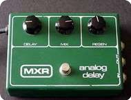 Mxr Analog Delay 1970 Green