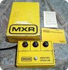 Mxr Stereo Chorus 1970 Yellow