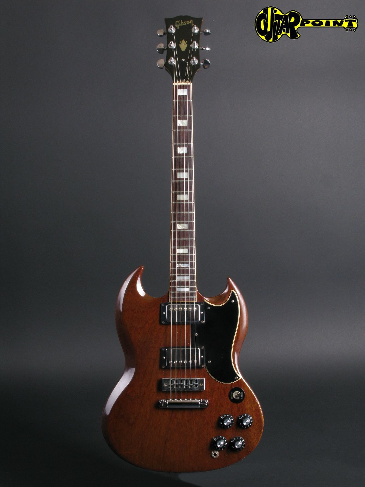 Gibson Guitars For Sale >> Gibson SG Standard 1972 Cherry Guitar For Sale GuitarPoint