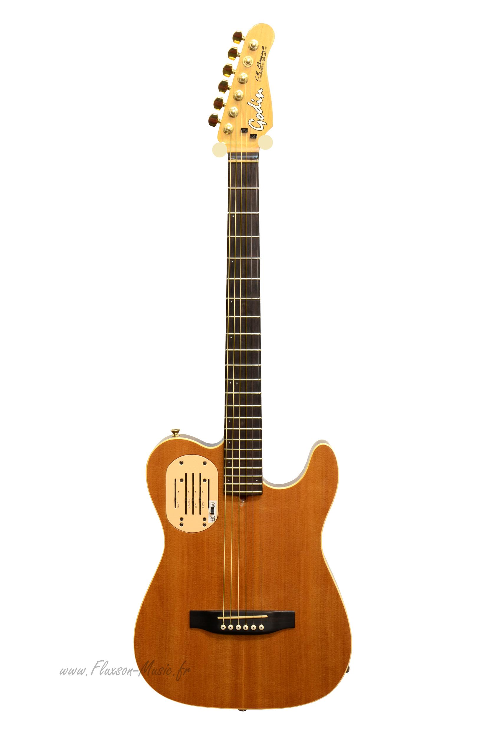 Godin Guitars For Sale : godin acousticaster 2003 natural satin guitar for sale fluxson music ~ Russianpoet.info Haus und Dekorationen