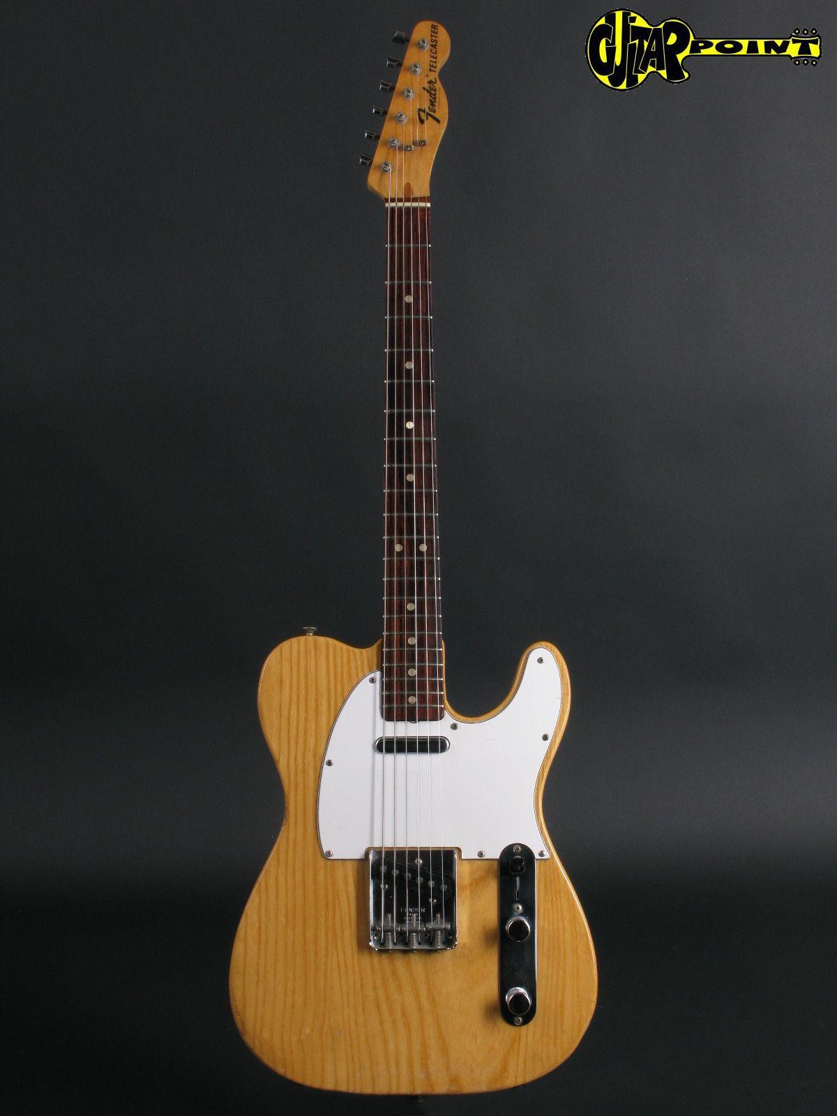 fender telecaster 1974 natural guitar for sale guitarpoint. Black Bedroom Furniture Sets. Home Design Ideas