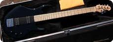 Music Man Silhouette Bass Guitar 2013 Black
