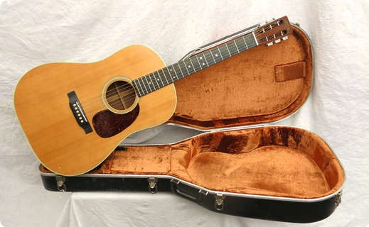 Martin D28s 1972 Spruce Top