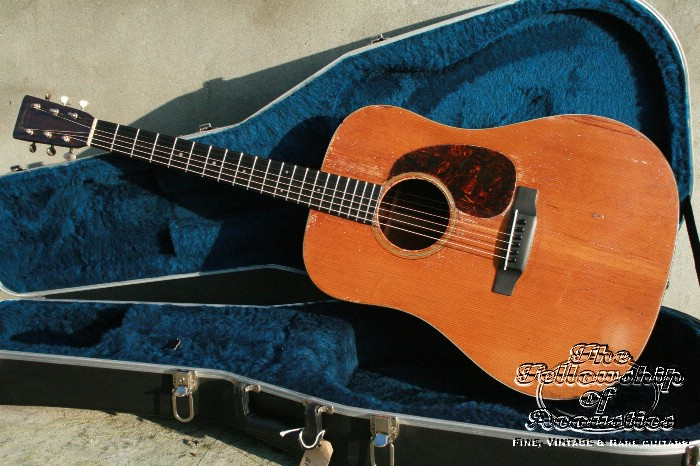 martin d 18 1939 guitar for sale the fellowship of acoustics. Black Bedroom Furniture Sets. Home Design Ideas