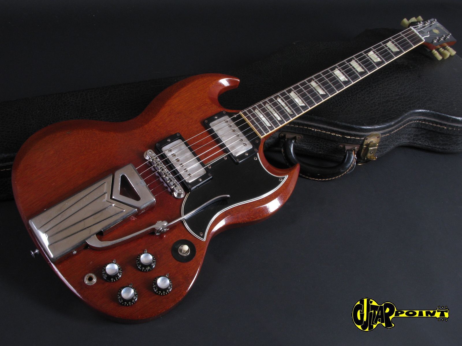 gibson sg les paul standard 1961 cherry guitar for sale guitarpoint. Black Bedroom Furniture Sets. Home Design Ideas