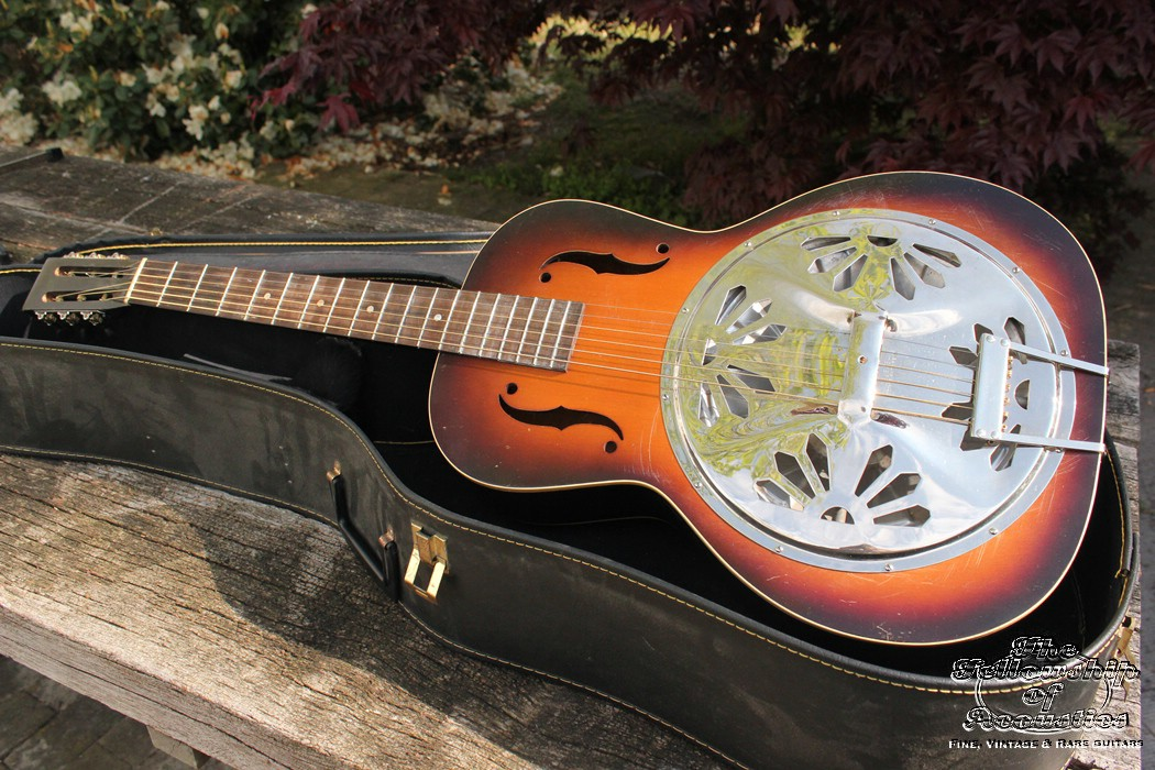 regal dobro 27 resonator sunburst 1936 guitar for sale the fellowship of acoustics. Black Bedroom Furniture Sets. Home Design Ideas