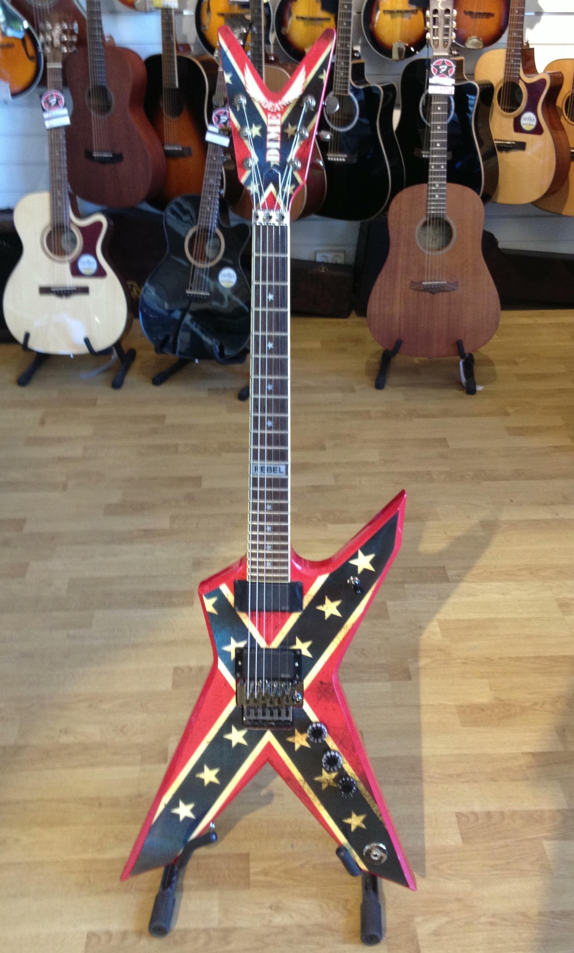 dean dixie rebel 2010 39 s rebel guitar for sale freddans musik. Black Bedroom Furniture Sets. Home Design Ideas