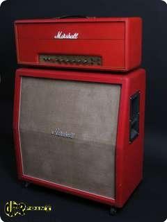 Marshall 50 Watt Bass / 1935 4x12 1971 Red Levant