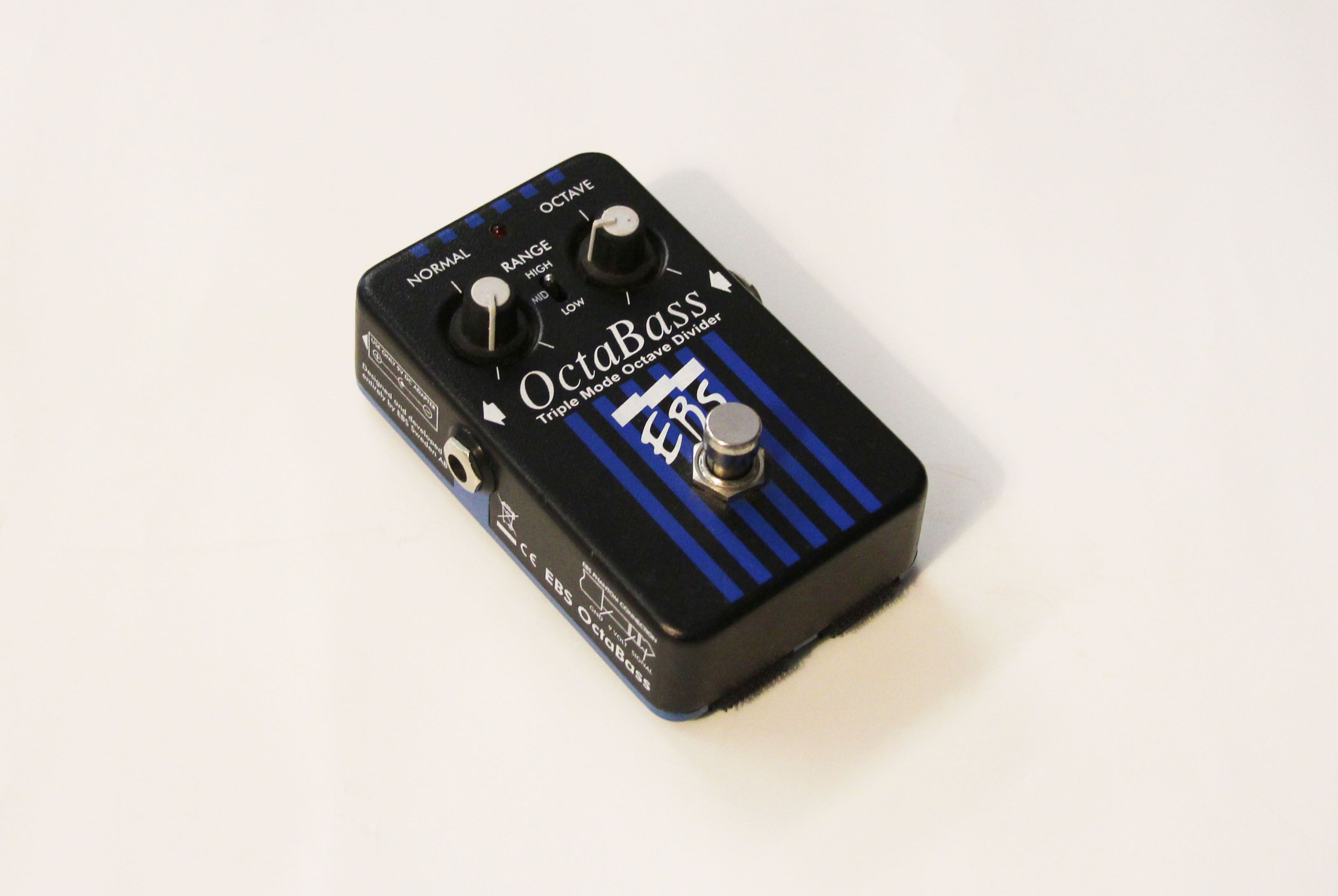 Ebs Octabass 2014 Effect Pedal For Sale Pluton Music
