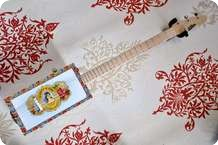 Saint Blues CIgar Box Guitar 2013 Misc