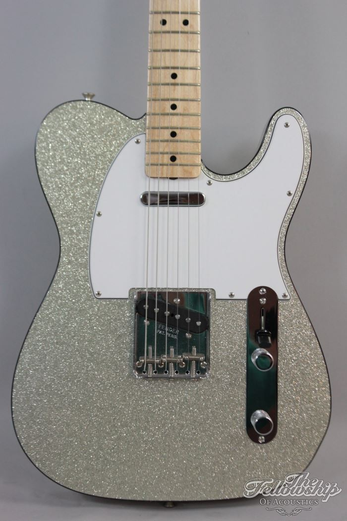Drums For Sale >> Fender Custom Telecaster Silver Sparkle '64 'Buck Owens' NOS 2009 Guitar For Sale The Fellowship ...
