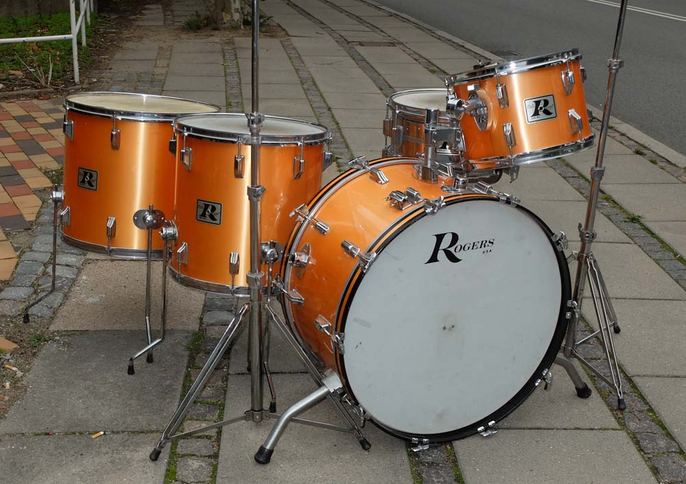 rogers vintage 1978 salamon drum percussion for sale plektrum. Black Bedroom Furniture Sets. Home Design Ideas