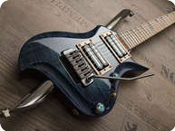 Zerberus Guitars Poledancer 2013 Maledives Blue Burst
