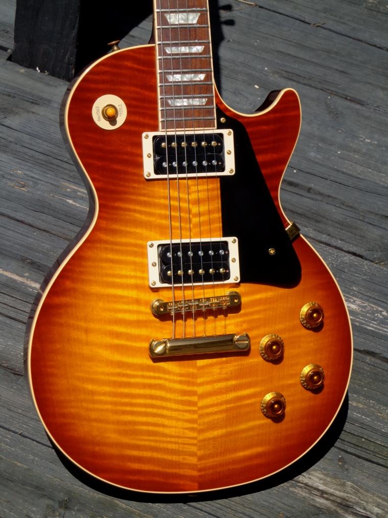 gibson les paul standard 1997 ice tea sunburst guitar for sale guitarbroker. Black Bedroom Furniture Sets. Home Design Ideas