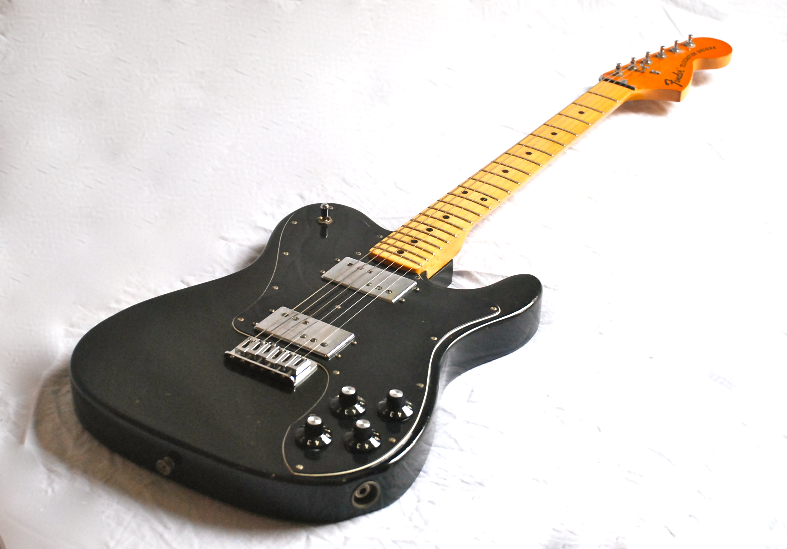 Fender Telecaster Deluxe Black 32