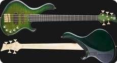 Frog Omega 5 Greenburst Custom