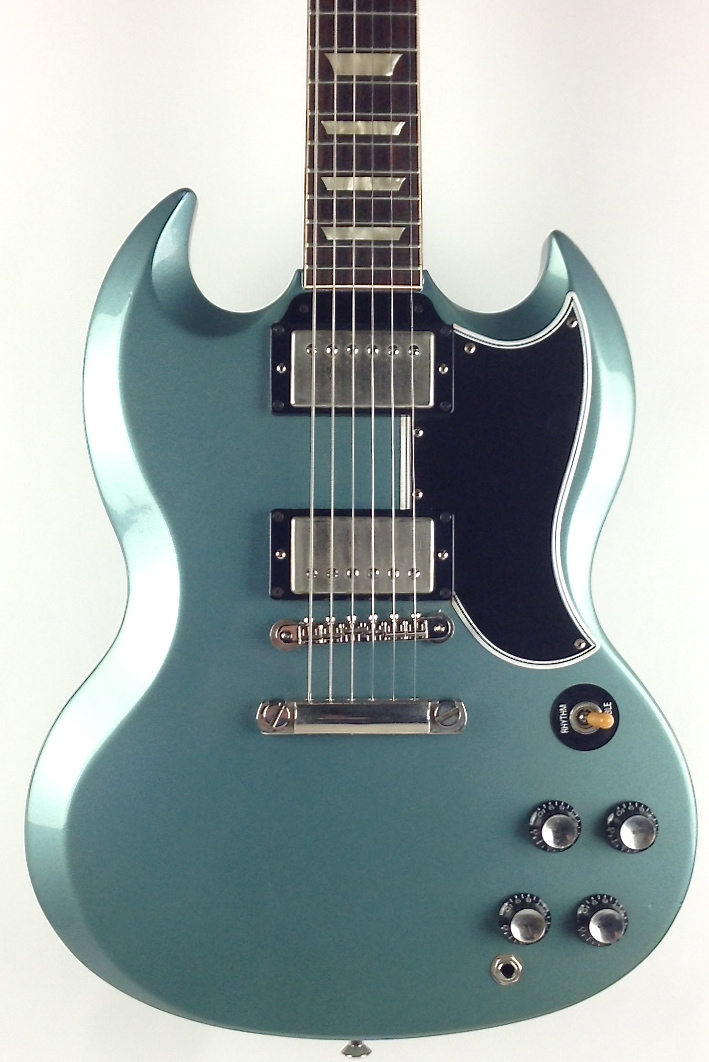 gibson custom shop sg 2000 pelham blue guitar for sale thunder road guitars. Black Bedroom Furniture Sets. Home Design Ideas