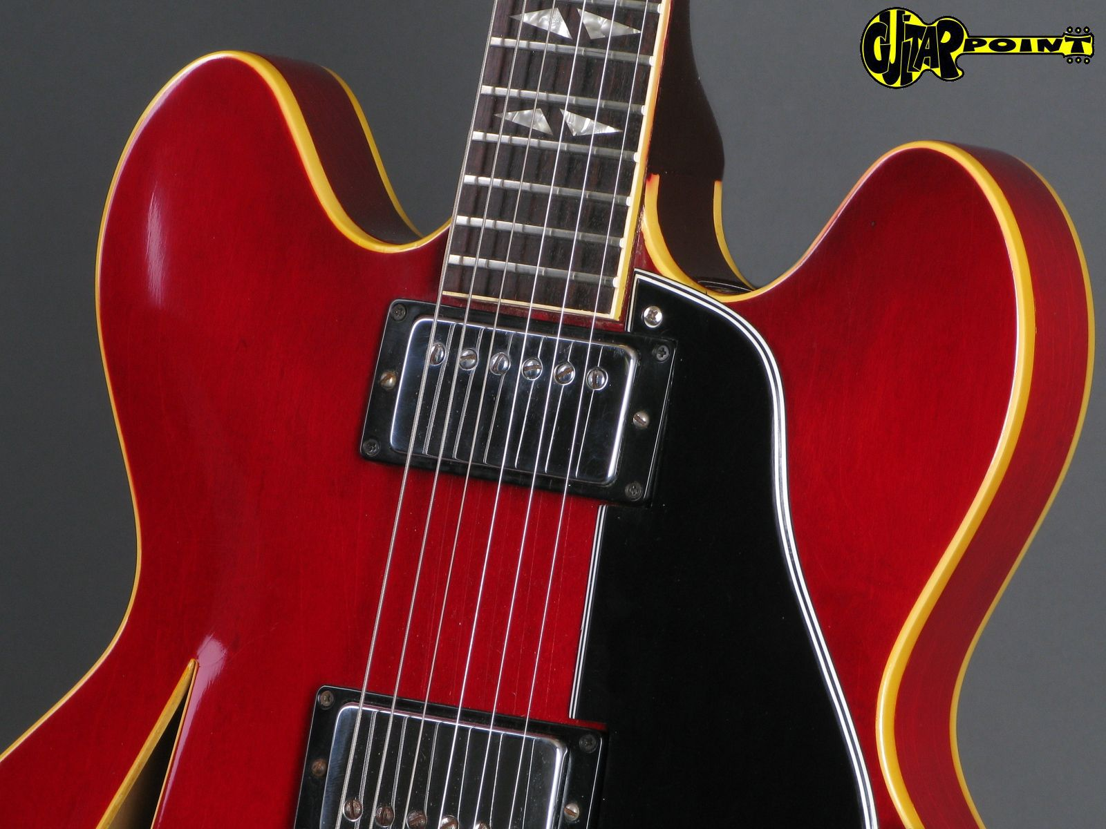 Gibson Trini Lopez 1966 Cherry Guitar For Sale GuitarPoint