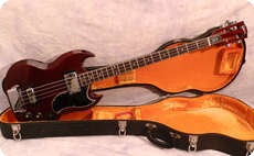 Gibson EB3L 1970 Cherry Red