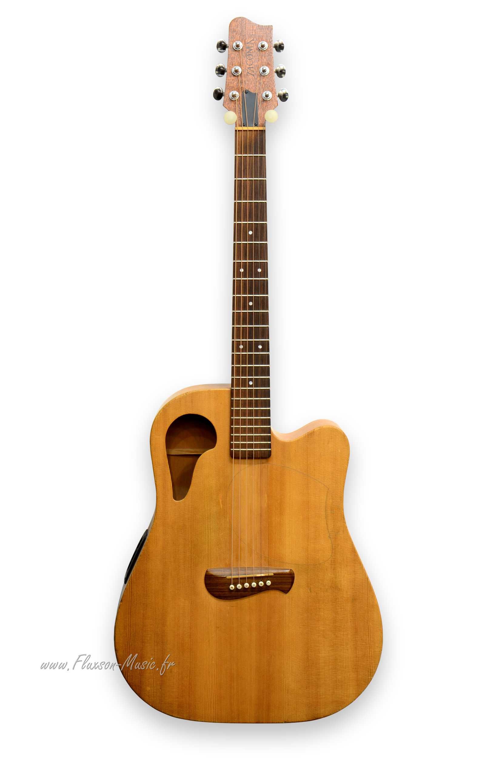 tacoma roadking 1990 natural guitar for sale fluxson music. Black Bedroom Furniture Sets. Home Design Ideas