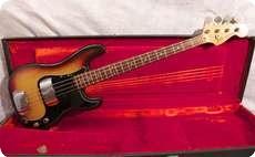 Fender Precision 1977 Sunburst