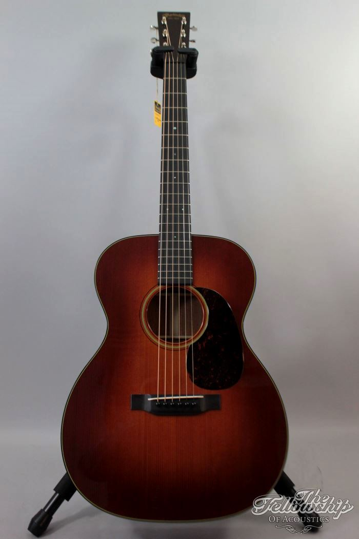 martin om 18 authentic 1933 sunburst adirondack mahogany 2013 guitar for sale the fellowship. Black Bedroom Furniture Sets. Home Design Ideas