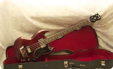 Gibson EB3 1968 Cherry Red