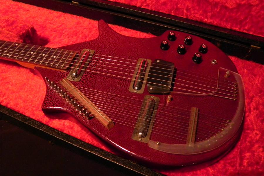 coral danelectro sitar 1967 guitar for sale vintage guitars. Black Bedroom Furniture Sets. Home Design Ideas