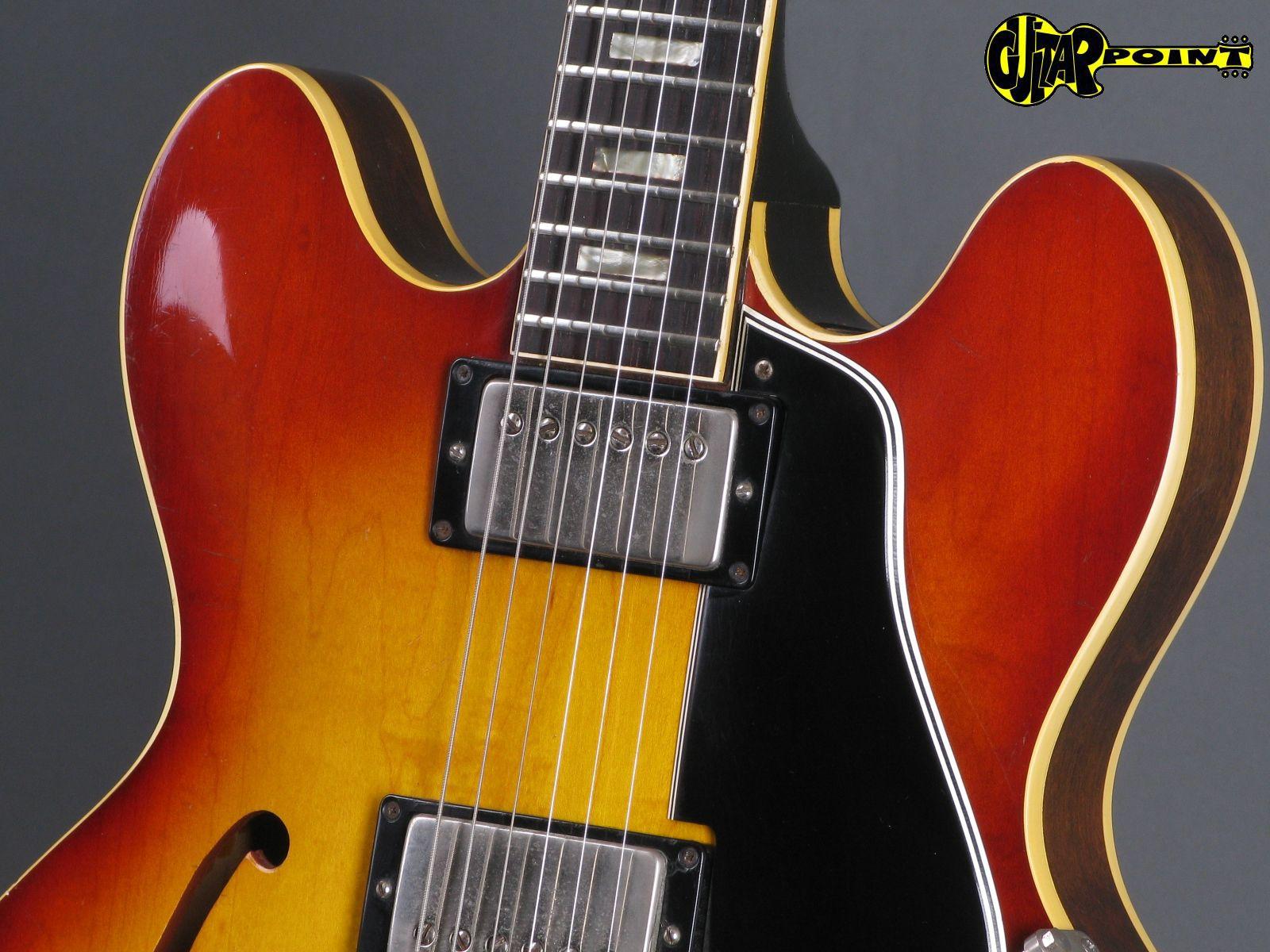 gibson es 335 td 1965 sunburst guitar for sale guitarpoint. Black Bedroom Furniture Sets. Home Design Ideas